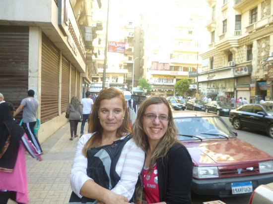 New Garden Palace Hotel: la calles del Cairo