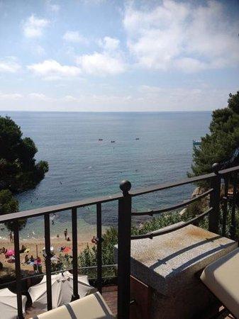 Salles Hotel & Spa Cala del Pi: vistas de la Cala de Pi desde los Balcones del hotel