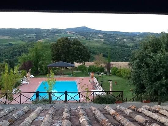 Agriturismo Tenuta di Corbara : The view from our window
