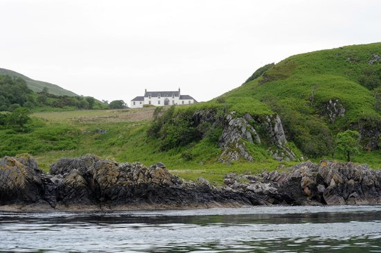 Isle of Jura, UK: George Orwell House on Jura (boat ride to Corryvreckan Whirlpool)