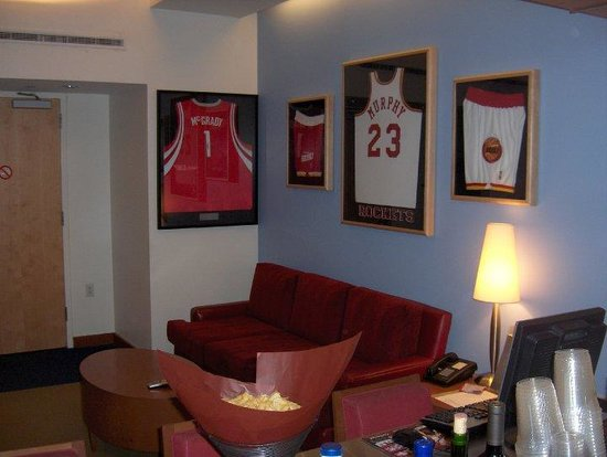 Toyota Center: Rockets Suite