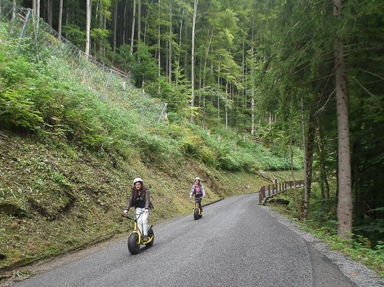 Reichenbach Falls: Monster trotties scooters