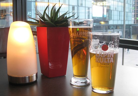 Scandic Simonkentta: Sundowner Beers