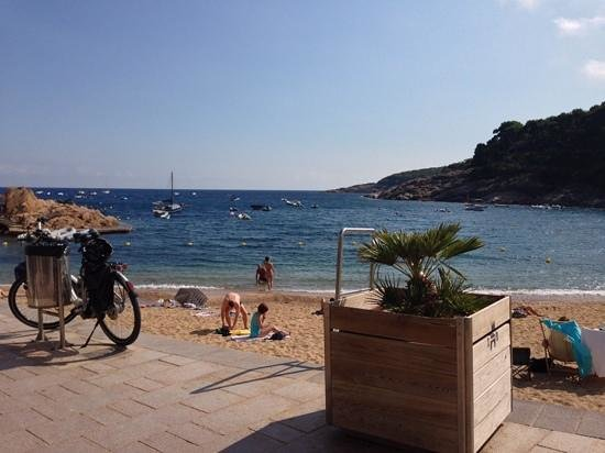 La Morera: view from our table