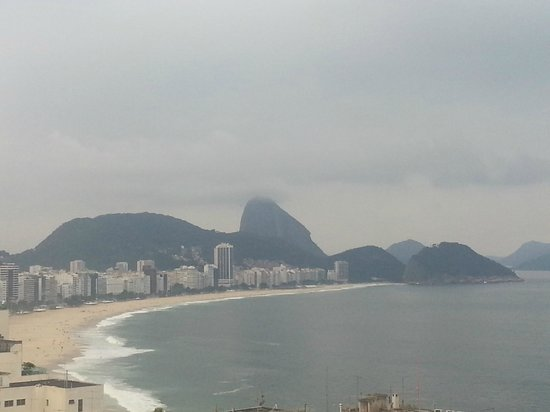 Copacabana Rio Hotel: Vista privilegiada da cobertura