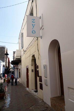 Riad Zyo : front door