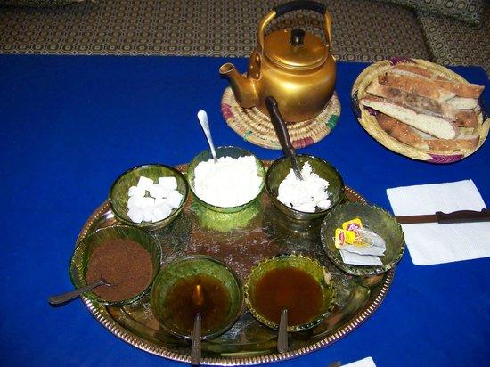 Maison D'hotes Dar Ait Souka: Petit déjeuner