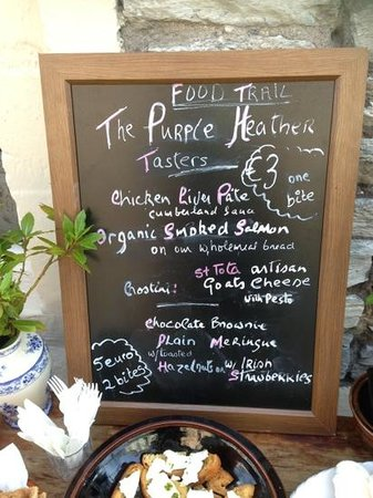 The Purple Heather Restaurant: Food Festival