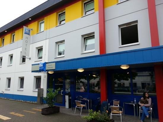 Ibis Budget Mannheim Friedrichsfeld : Entrada do hotel