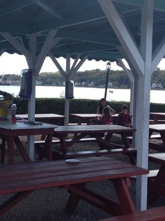 Sea View Snack Bar: water view