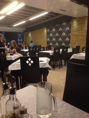 Orient Express: dinning room