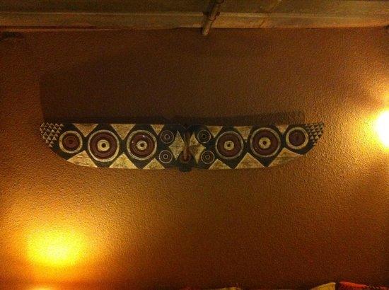 Chez Tess : Detail of decoration