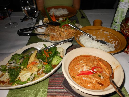 Sarova Stanley: thai food