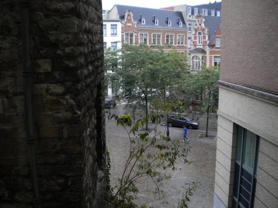 Novotel Brussels City Centre: View past the Tour Noir from a room