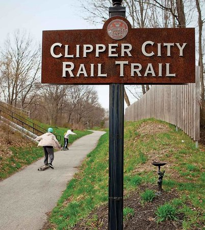 ‪Clipper City Rail Trail‬