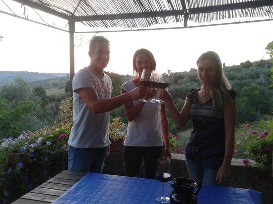 Io Svolto - Day Tours & Bike Rentals: brindisi finale!
