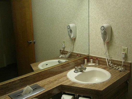 Ramada Reno Hotel and Casino: Sink