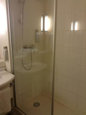 Ibis Paris Issy Les Moulineaux Val de Seine : The bathroom is quite basic