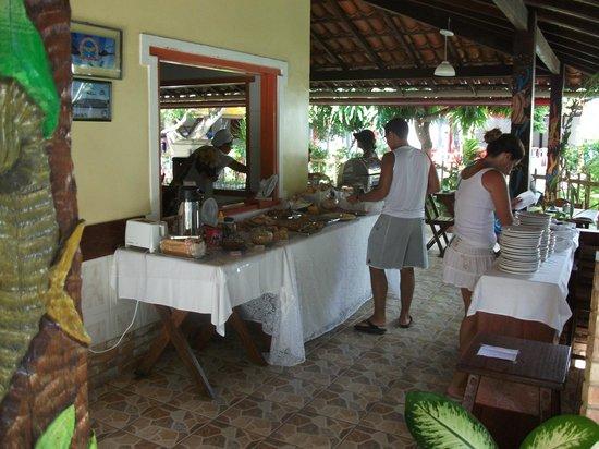 Pousada Arigato: Café da manhã