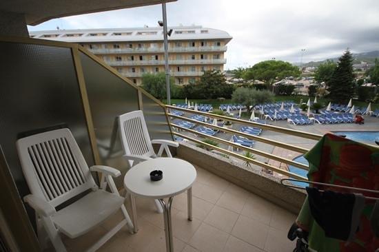 Aqua Hotel Montagut Suites: balcony