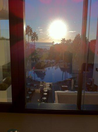 Eden Alcudia: the view from the hotel corridor