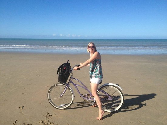 By The Sea Port Douglas: Enjoying a bike ride on 4 mile beach
