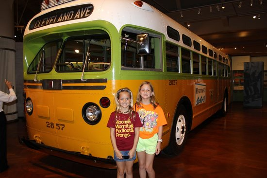 The Henry Ford: Rosa Parks bus