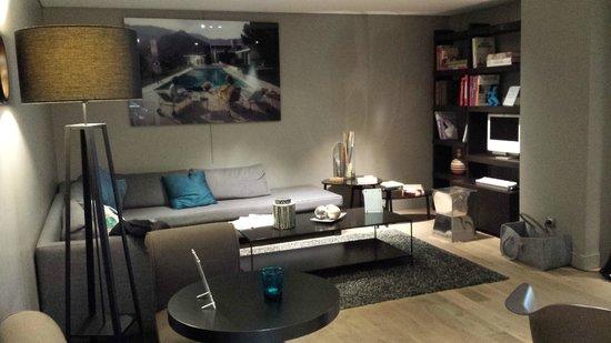 โฮเต็ล ทูร์ โดแวร์ญ: lounge de l'Hotel