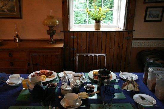 Claonairigh House : Breakfast