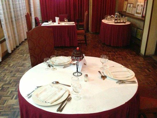 Chez Mariette : table