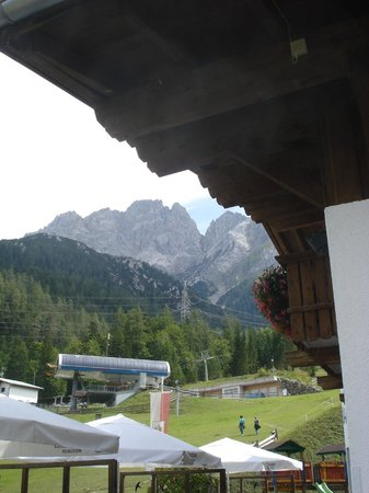Waldhaus Talblick: View from the terrace