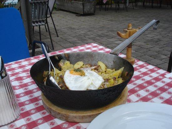 Waldhaus Talblick: Tiroler gröstl