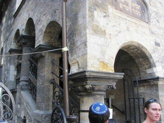 Exhibition Jewish ways of Life: Ceremonial hall (Obřadní síň) entrance museum