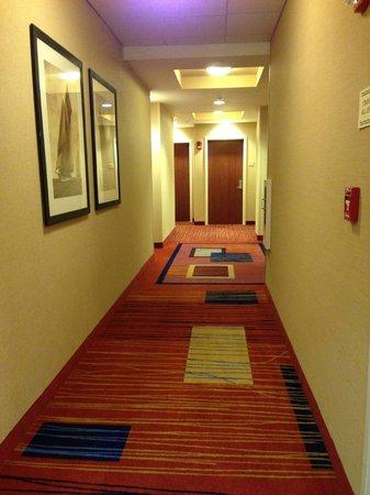 Courtyard Boston Copley Square: Hallway