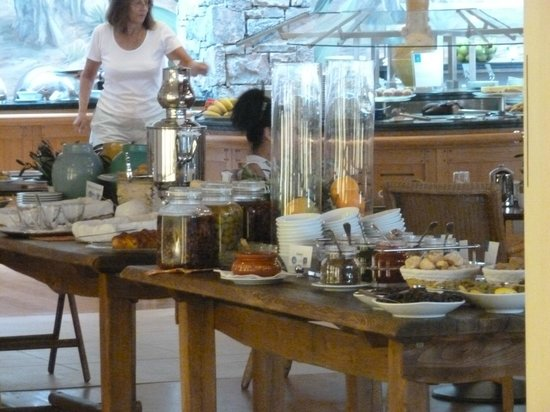 Blue Palace, a Luxury Collection Resort & Spa, Crete: great breakfast