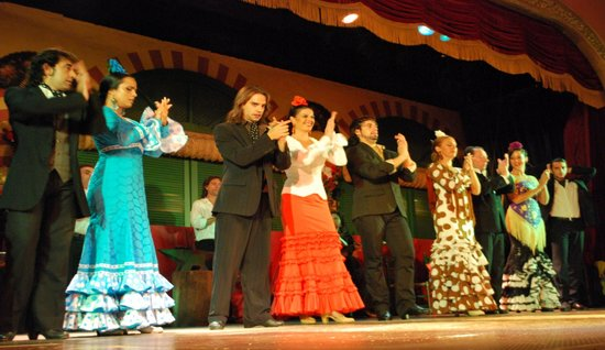 Hotel Bellavista Sevilla: Spectacle de flamenco
