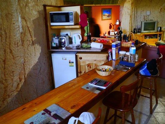 Down to Erth B &B: Kitchen