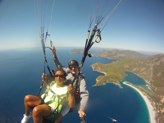 Re Action Paragliding: Paragliding 5-9-2013 Oludeniz turkije