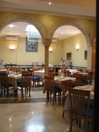 Hotel Montecarlo: Salle de restauration
