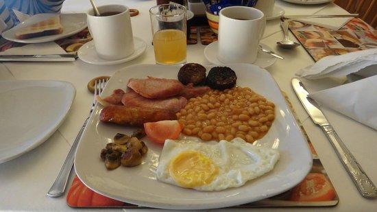 Glenshandan Lodge: Petit-déjeuner