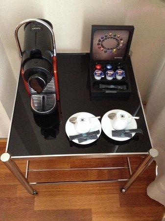 AC Hotel Aitana: Nespresso in room