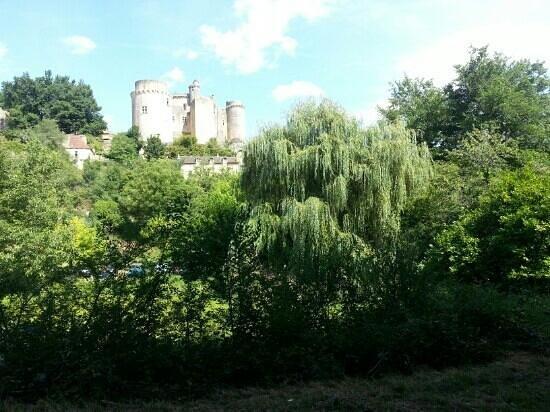Lot-et-Garonne, France : château Bonaguil