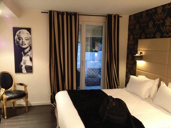 Hotel La Villa Cannes Croisette : Room