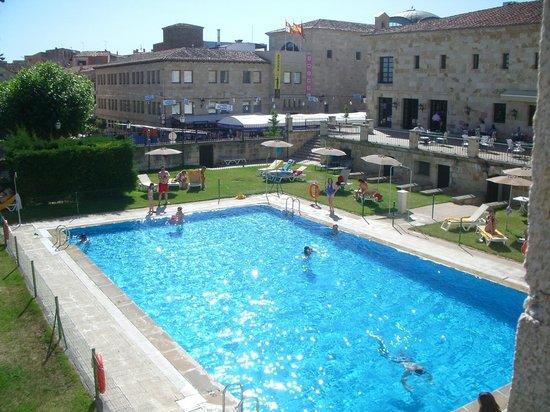 Parador de Zamora: Detalle de la piscina
