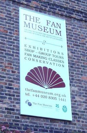 The Fan Museum: L'esterno del museo