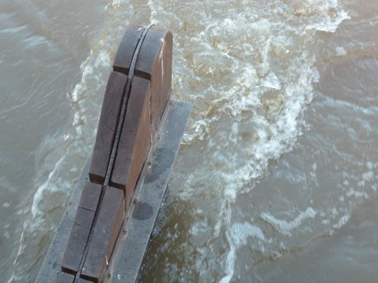 Murray River Paddlesteamers - PS Emmylou : rudder