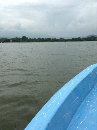 Gray Line Nicaragua: Lake Nicaragua or Cocibolca or Granada is a vast freshwater lake in Nicaragua of tectonic origin