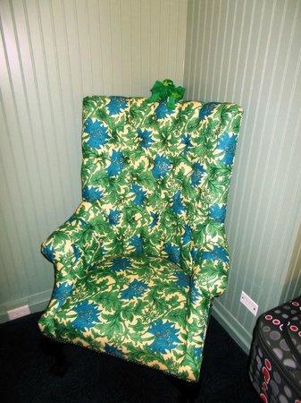 Hotel Triton: Cosy chair!