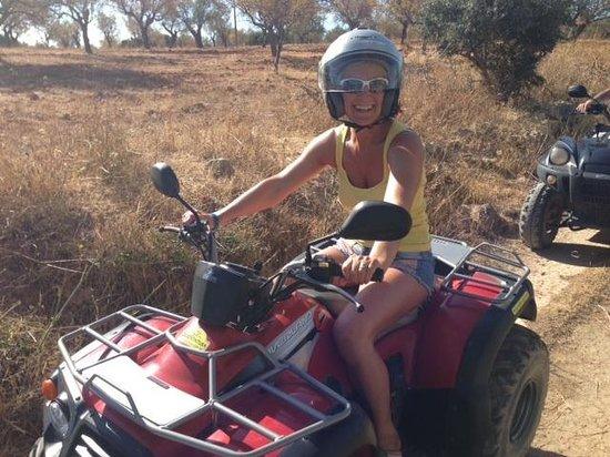 Quad Ventura: Raring to go