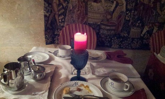 Hotel Afan de Rivera: El desayuno Real